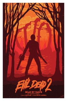 Evil Dead News - News Related To The Evil Dead Franchise: Evil Dead Trilogy Posters - Created by Matt Peppler Best Horror Movies, Classic Horror Movies, Horror Films, Scary Movies, Horror Icons, Horror Movie Posters, Movie Poster Art, Culture Pop, Geek Culture