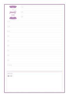 FREE PRINTABLE CLASSIC 2017 DAILY DIARYYOU MAY ALSO LIKE