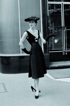 Vintage Dior at the Hotel Plaza Athenee in Paris   (I have actually been to this place-it's amazing!)