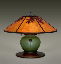 From William Morris Studios  Functional Art   Arts & Craft Lamp