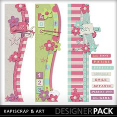 Abc123 addon FREE through May 23 ONLY || #free #digital #scrapbook #digiscrap #craft
