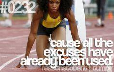 No more excuses! Fitspo