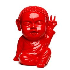 Iki Peace & Red ! www.the-happy-factory.com