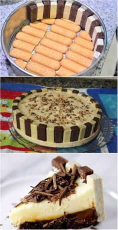 Bis Kuchen - Doces e Sobremesas recipes pies Delicious Cake Recipes, Yummy Cakes, Yummy Food, Food Cakes, Cupcake Cakes, Cupcakes, Pie Dessert, Dessert Recipes, Dinner Recipes