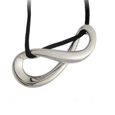 infinity pendant by Minas jewelry Infinity Pendant, Bling Bling, Washer Necklace, Headphones, Jewelry, Design, Fashion, Moda, Headpieces