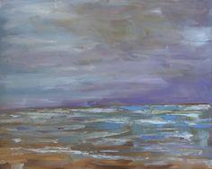 """Purple Skies"" original fine art by Heather Lehmberg"