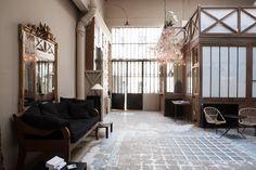 Atelier d'artiste à Paris - Location - à louer pour événements