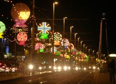 The Blackpool Illuminations in the UK... one day I'm going to see this in real life.