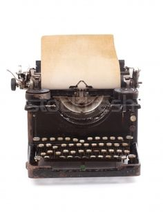 Find Old Vintage Typewriter Blank Sheet Paper stock images in HD and millions of other royalty-free stock photos, illustrations and vectors in the Shutterstock collection. Look Vintage, Vintage Decor, Vintage Antiques, Retro Vintage, Vintage Items, Vintage Stuff, Stock Foto, En Stock, Typewriter Machine