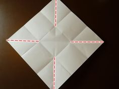 No ordinary origami envelope, this one opens out like a flower. It's easy to make too - I'll show you how to fold it step by step with this 5 minute video. Origami Envelope, Origami Box, Oragami, Square Envelopes, How To Make An Envelope, Useful Origami, Addressing Envelopes, Mail Art, Pinwheels