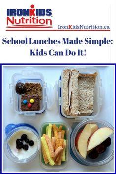 School Snacks For Kids, Healthy School Snacks, Make School, Healthy Kids, Nut Free, Lunch Ideas, Teaching Kids, Raising, Make It Simple