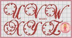 http://delicadocantinho.blogspot.com.br/2013/12/monograma-ponto-cruz-fonte-brochscript.html