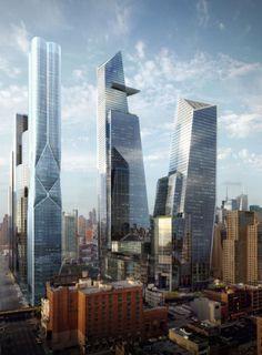 Hudson Yards, Manhattan, New York, United States I designed by Kohn Pedersen Fox