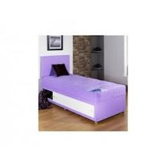 - Kiddies Lilac Cotton Divan Bed is a highly practical, comfortable and resplendently styled piece of furniture that will form an alluring focal point within any contemporary bedroom. Divan Beds, Buy Bed, Contemporary Bedroom, Bed Frame, Bedding Sets, Mattress, Lilac, Storage, Cotton