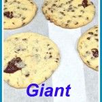 Giant cake mix chocolate chip cookies