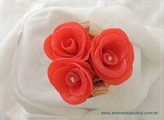 Tina de Rosas Pequena