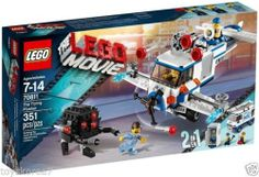 LEGO The LEGO Movie 70811 The Flying Flusher NEW Factory Sealed