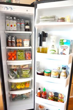 Stock and organize a healthier refrigerator in 10 simple steps