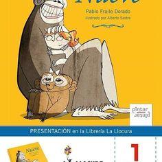 """HOY 1 de #febrero estaremos con Pablo Fraile Dorado presentando su nuevo álbum ilustrado """"Nueve cuentos azules"""" en la librería La Llocura de Mieres. ¡TODO LISTO!⠀ #libros #LIJ #childrensBooks #ilustración #Mieres #Asturias"""