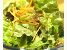 焼き肉屋さん(~より旨ぁ)チョレギサラダ by ラ・ランド Vegan Recipes, Cooking Recipes, Korean Dishes, Japanese Food, Japanese Recipes, Seaweed Salad, Lettuce, Spinach, Buffet