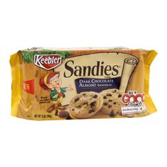 I'm learning all about Keebler Sandies Dark Chocolate Almond Shortbread Cookies at @Influenster!