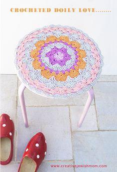 Crocheted doily love