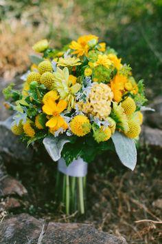 Rustic Yellow Vineyard Wedding