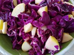 Cabbage, Salads, Food And Drink, Healthy Recipes, Healthy Food, Vegetables, Foods, Christmas, Inspiration