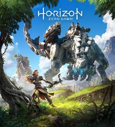 ArtStation - Horizon Zero Dawn Cover art, luc de haan