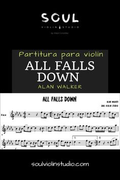 All falls down- Alan walker, violin cover. Alan Walker, All Falls Down, Falling Down, Sheet Music, Studio, Cover, World, Board, Messages