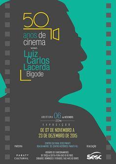 Exposição 50 anos de Cinema - Luiz Carlos Lacerda - Bigode Abertura: dia 06 de novembro, às 20h. Horário de funcionamento: de terça a sexta-feira, das 10h às 19h. Sábados, domingos e feriados, das 14h às 19h. Centro Cultural Sesc Paraty Rua da Matriz, 20. Centro Histórico. Paraty/RJ 24 3371 4516 facebook/sescparaty  #Sesc #SescParaty #CasaSesc #CasaSescParaty #cultura #turismo #arte #VisiteParaty #TurismoParaty #Paraty #PousadaDoCareca #SiloCultural #SiloCulturalParaty #exposição #cinema…
