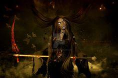 Spiderwebwoman (edited) by SlichoArt on DeviantArt