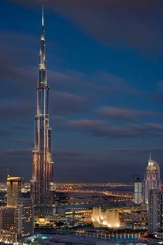 Night at the Burj