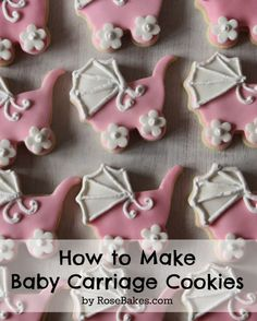 How to Make Baby Carriage Cookies