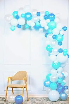 Amazon.com : adult balloon garland Water Birthday, Summer Birthday, Balloon Garland, Balloons, Birthdays, Amazon, Home Decor, Anniversaries, Globes