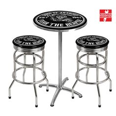Sons of Anarchy Bar Table & Stools