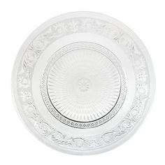 assiette transparente 1 99 tati d coration mariage blanc or rouge pinterest. Black Bedroom Furniture Sets. Home Design Ideas