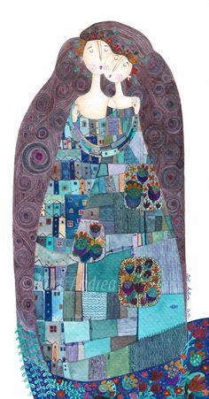Kürti Andrea: Klimt-ish/...lindo demais....