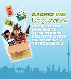 Gagnez une Degustabox!