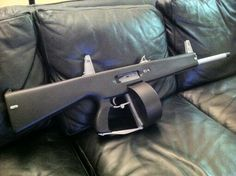 AA12 shotgun (very low recoil & automatic)