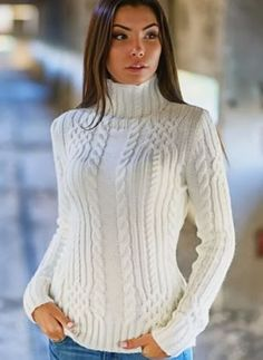 28 Short Sweater Outfit Ideas For Fall & Winter - EcstasyCoffee Short Sweater Dress, Sweater Outfits, Pullover Outfit, Sweater Knitting Patterns, Knit Fashion, Cable Knit Sweaters, Crochet Clothes, Cardigans For Women, Knitwear