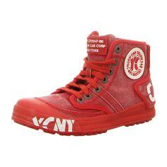 NEU: Yellow Cab Sneaker Schnürer Ground - Y25153 RED - red -