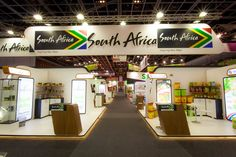 #SouthAfrica #Exhibition #Stand @ #Gulfood #Dubai #UAE #MiddleEast designed & built by #GLeventsMiddleEast