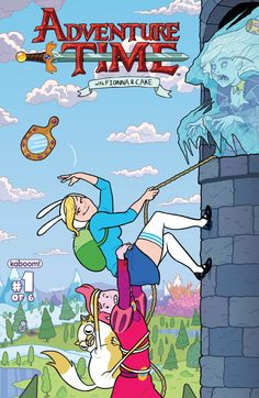 Announced over New York Comic Con, in January BOOM! studios will be releasing a mini-series featuring our favorite gender-swapped Adventure Time. Adventure Time- Fionna and Cake, issue 1 Fiona Adventure Time, Ice Queen Adventure Time, Watch Adventure Time, Adventure Time Girls, Adventure Time Anime, Comic Book Covers, Comic Books, Prince Gumball, Land Of Ooo