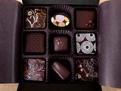 Formaggio Kitchen | Chocolate, Cakes & Confections | Chocolate and Confections | Specialty Chocolates | EH Chocolatier 9 pc Assortment
