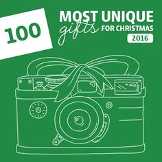 100 Most Unique Christmas Gifts of 2016- this is the holy grail for unique Christmas gift ideas! A must-read before you do any holiday shopping this year.