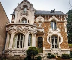 Art Nouveau Villa - Maison Barillet (1900), can be found in the number 46 of Rue Saint-Marc of the city of Orléans in France.
