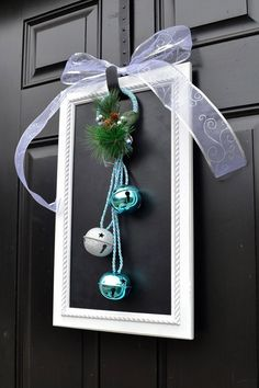 Christmas on the front door