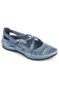 Mavi Deri Günlük Ayakkabı #modasto #giyim #moda https://modasto.com/fifty/kadin/br22883ct2