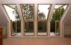 Velux Cabrio balcony : Furniture by A1 Lofts and Extension